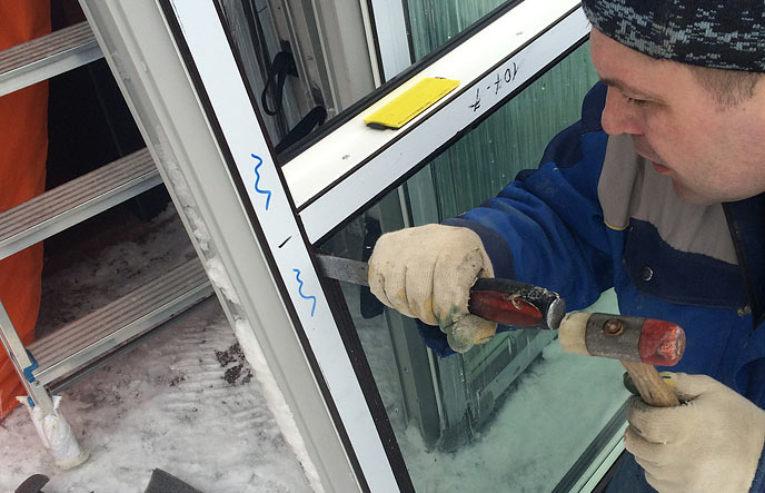 Как поменять стеклопакет в пластиковом окне своими руками 313