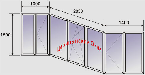 Остекление балконов. цены.