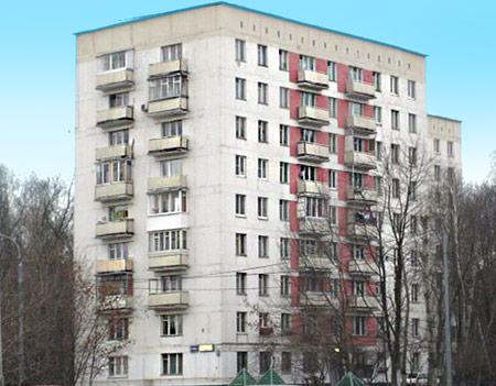 Серия домов серия домов ii-18/9, размеры окон и цены.